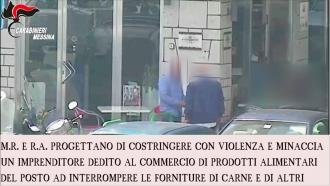 """Fotogramma del video sull'Operazione """"Polena"""" dei Carabinieri, arresto clan Spartà - Messina"""