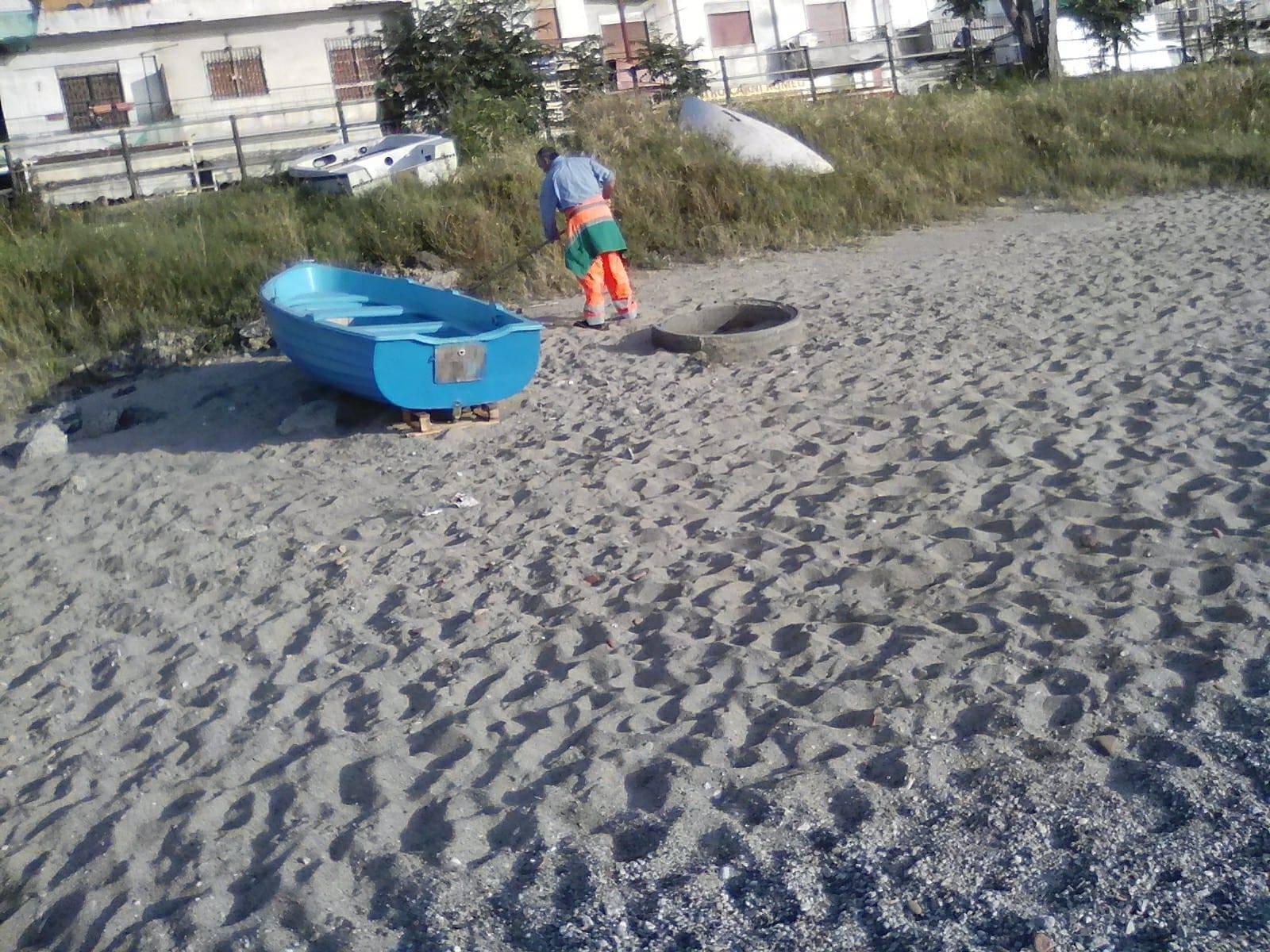 messina servizi pulizia spiagge