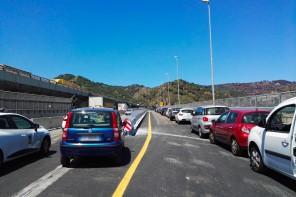 Messina. Riaperte le rampe d'accesso dello svincolo Giostra-Annunziata