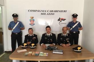 carabinieri rapina banca a Lipari