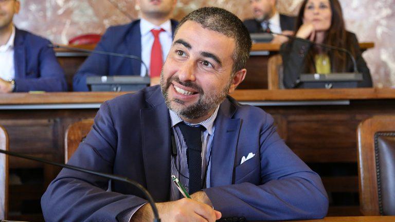 Massimo Rizzo consigliere comunale di libera me - messina