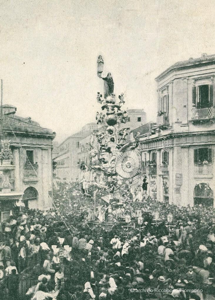 Vara di Messina a piazza Ottagona in via Garibaldi