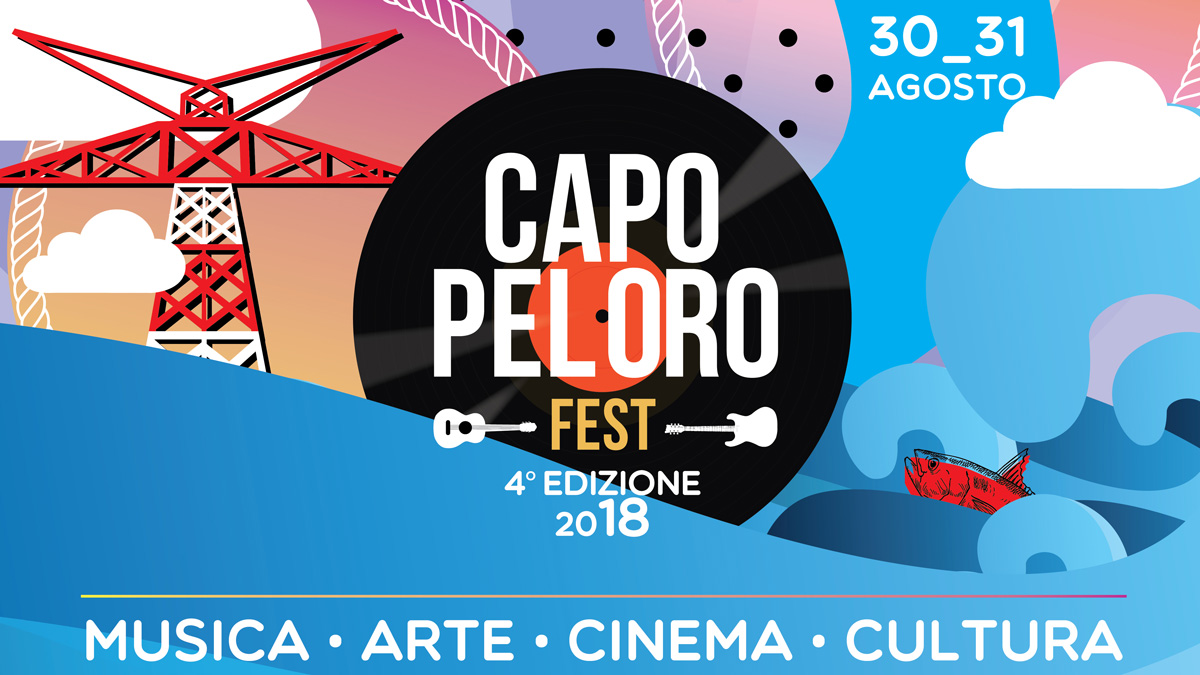 Cover Capo Peloro Fest 2018 - 30-31 agosto Messina