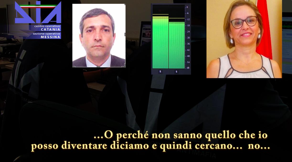 """Fotogramma delle intercettazioni dell'operazione """"Terzo livello"""", agli arresti Emilia Barrile"""