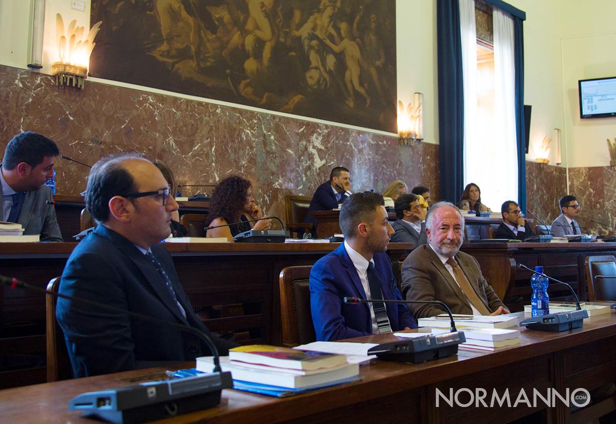 Gaetano Sciacca e il movimento 5 stelle in consiglio comunale