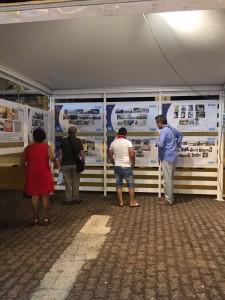 mostra a cura dell'architetto Nino Principato durante la fiera di messina 2018