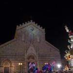 Foto della Vara di fronte al Duomo di Messina 2018