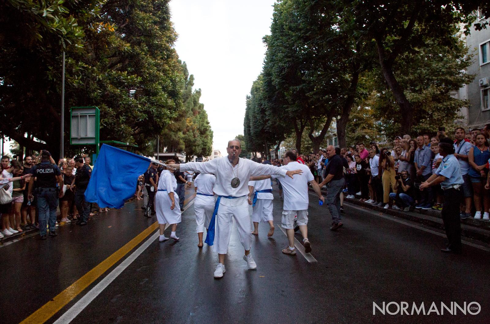 sbandieratore della Vara - Messina 2018