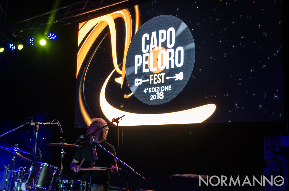 Foto del batterista de I Tre terzi - Capo Peloro Fest 2018, Messina