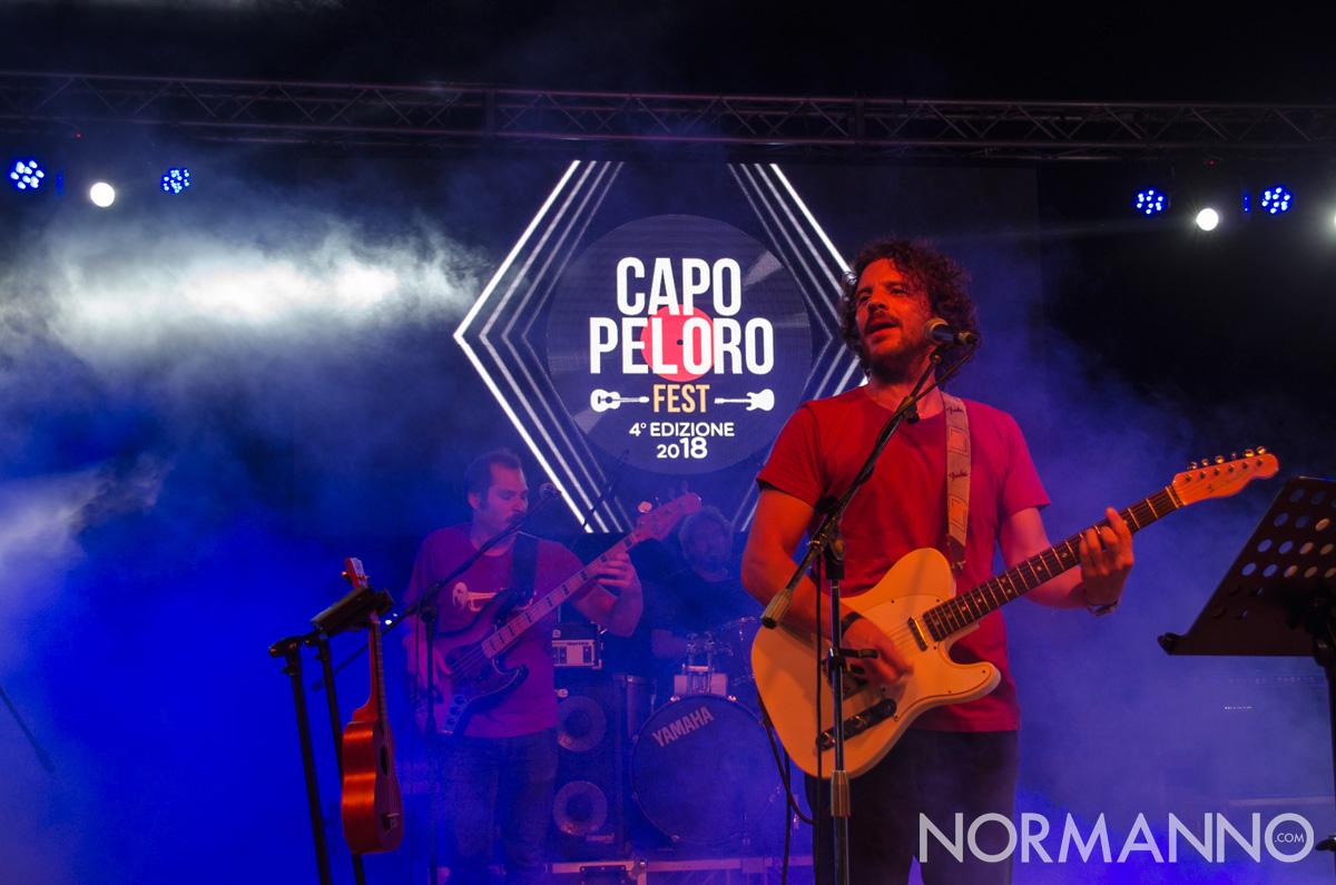 Foto del cantante de I tre terzi al Capo Peloro Fest 2018, Messina
