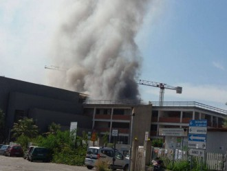 incendio università papardo messina