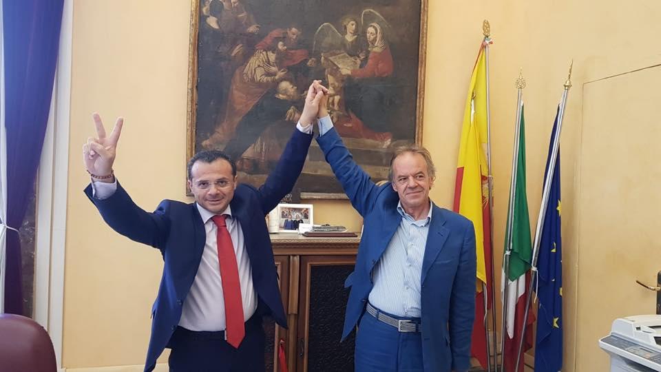 marcello scurria presidente agenzia per il risanamento - cateno de luca sindaco di messina