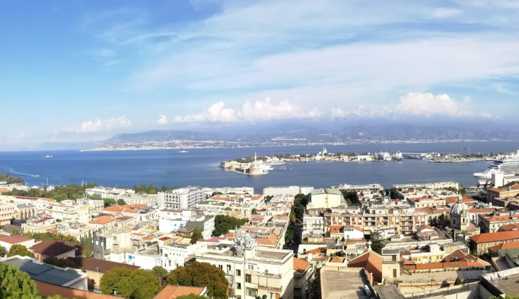 "Messina - ""Le vie dei Tesori"" - panorama da Cristo Re"