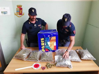sequestro droga messina