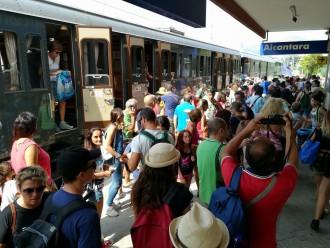 foto del treno storico