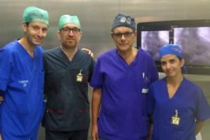 equipe ospedale Piemonte Messina, operazione uomo 106 anni
