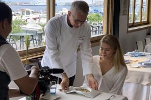 Messina. Chef Caliri e Miss Sicilia raccontano bellezze e sapori di Sicilia al Giappone