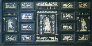 Stipo napoletano, sec. XVII conservato al Mume, museo regionale interdisciplinare di messina