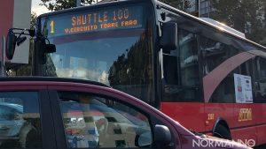 foto dello shuttle, la nuova linea di autobus di messina prevista dal piano di esercizio invernale di ATM (Azienda Trasporti di Messina)