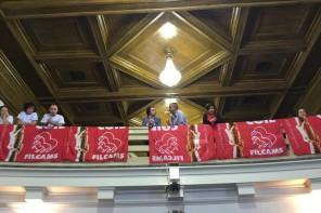 Cgil contro il Salva Messina: il sindacato protesta nell' aula consiliare