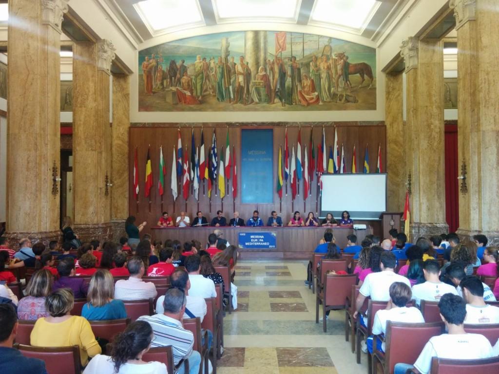 conferenza impianti sportivi messina
