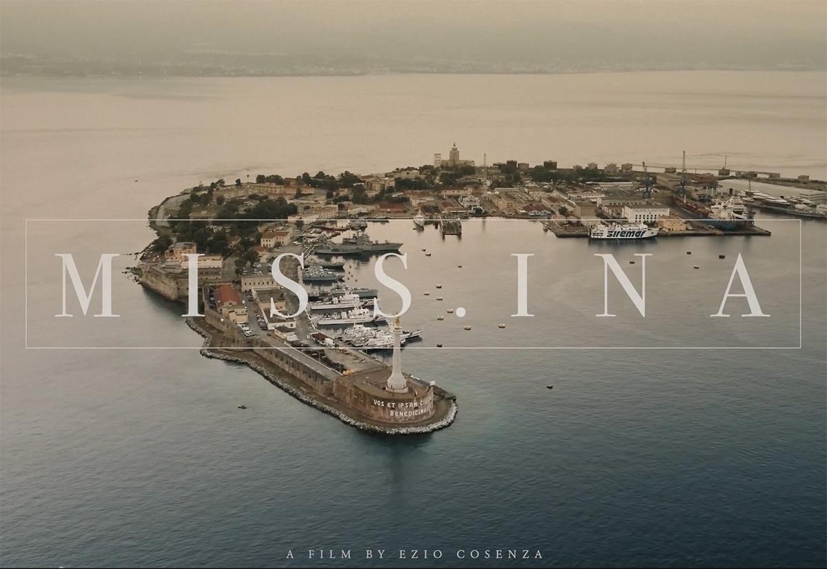 missina, o miss.ina, video realizzato da Ezio Cosenza per la città di Messina e per i messinesi