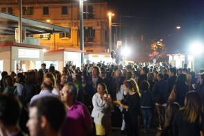 Messina Street Food Fest - pubblico in piazza