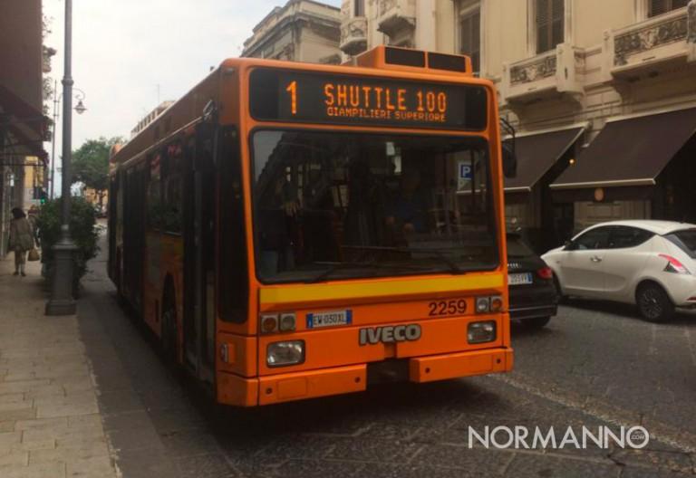 autobus shuttle 100 atm messina