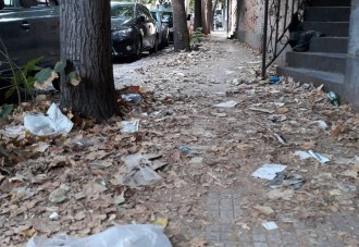 sporcizia e incuria in via monsigno d'arrigo a messina