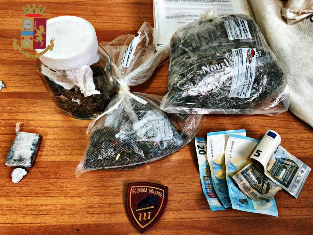 arresto per droga messina
