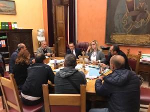 emergenza rifiuti riunione della giunta De Luca