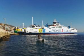 Arriva Elio, il nuovo traghetto di Caronte & Tourist approda a Messina