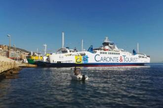 nuovo traghetto caronte e tourist messina
