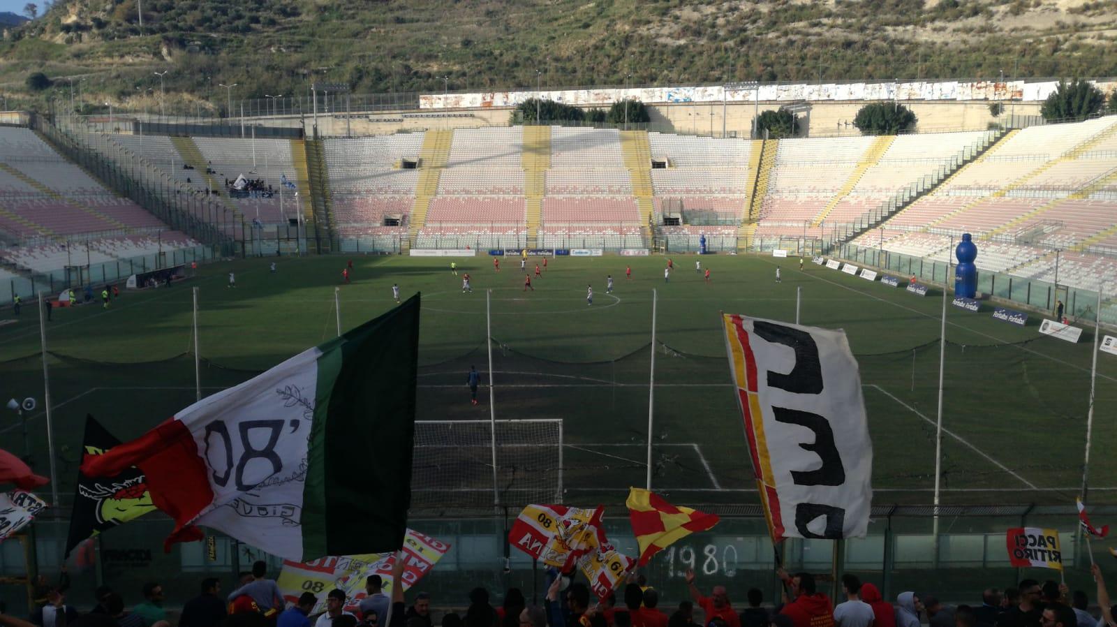 Foto dal match messina-gela