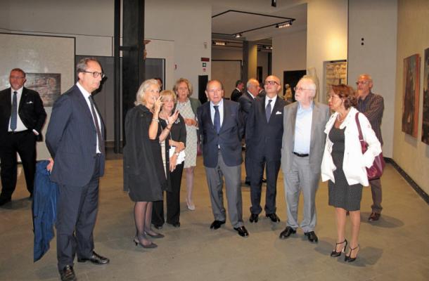 presidente della corte costituzionale in visit al museo regionale di messina