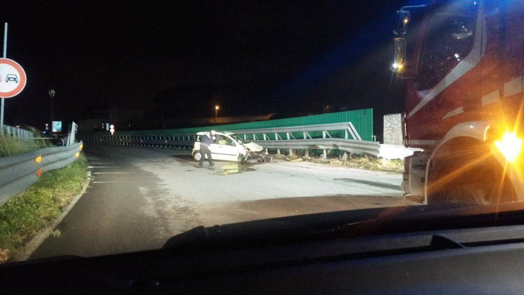Foto incidente panoramica dello stretto, pressi Ingegneria - Messina