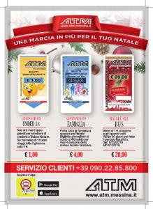 ATM biglietti di Natale, Messina