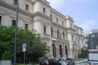 Foto frontale della Camera di Commercio di Messina