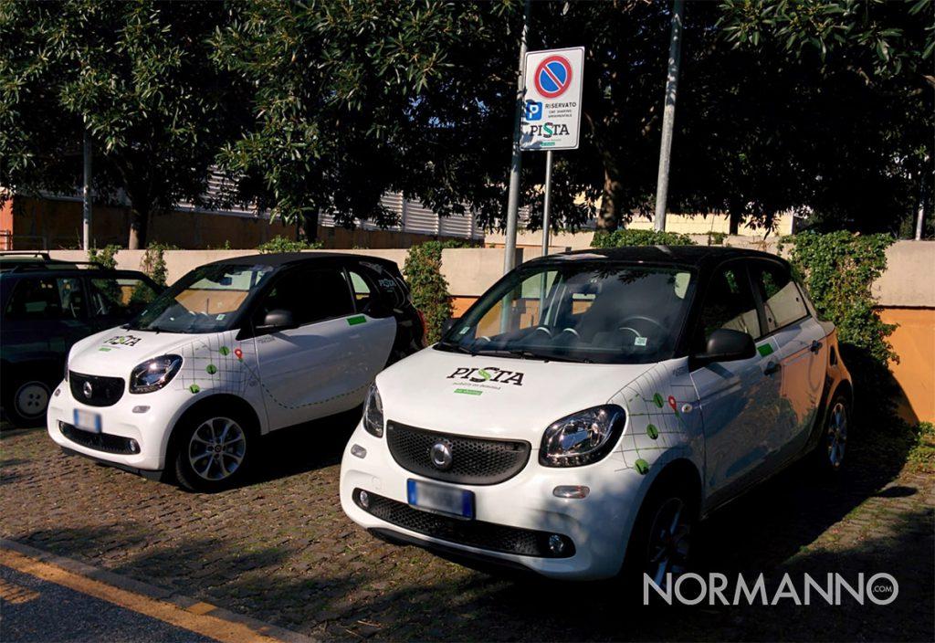 pista car sharing messina