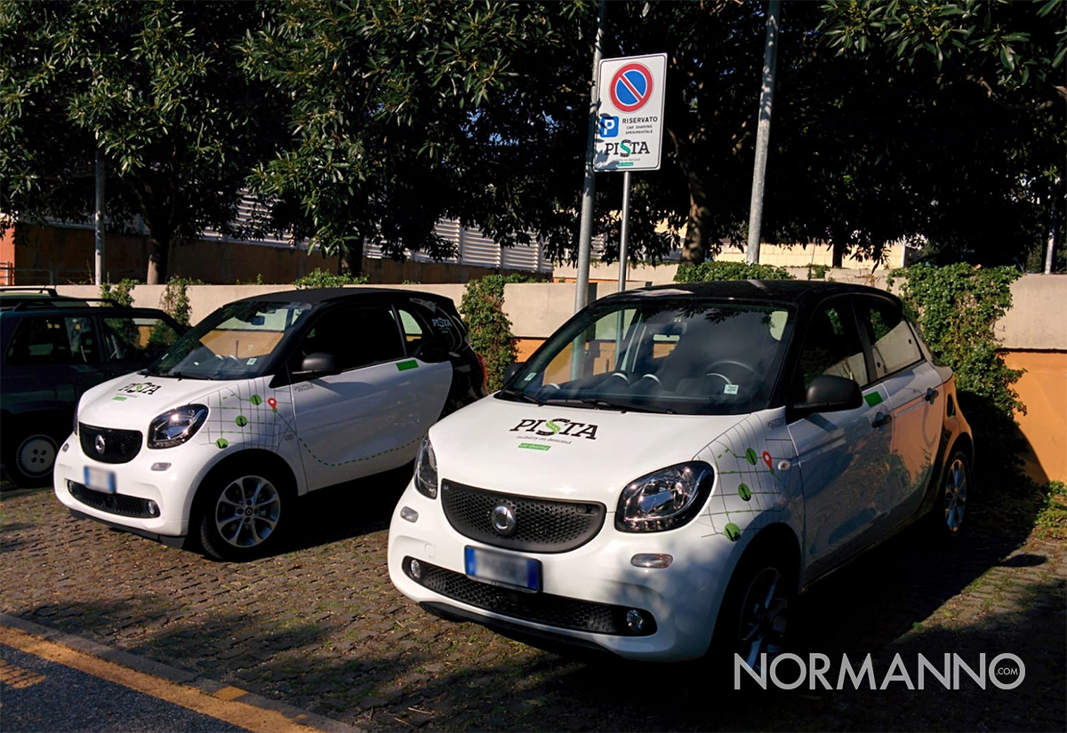 pista car sharing messina
