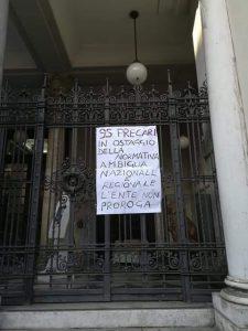 protesta 95 precari città metropolitana di messina