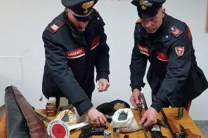 Detenzione illegale di armi clandestine: arrestato 42enne