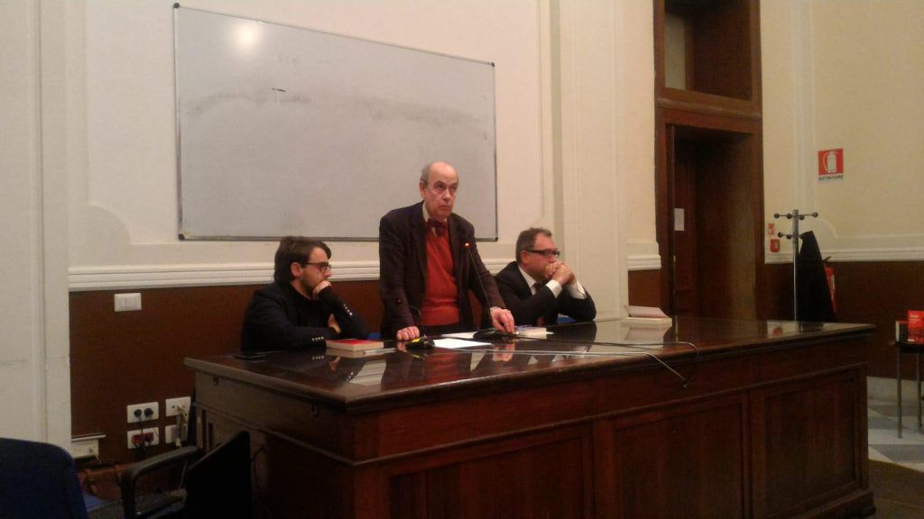 presentazione del libro di Marco Tarchi all'Università di Messina