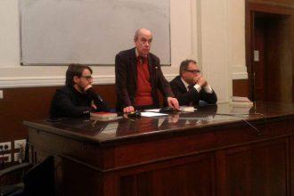 presentazione del libro di Marco Tarchi all'Università di Messina