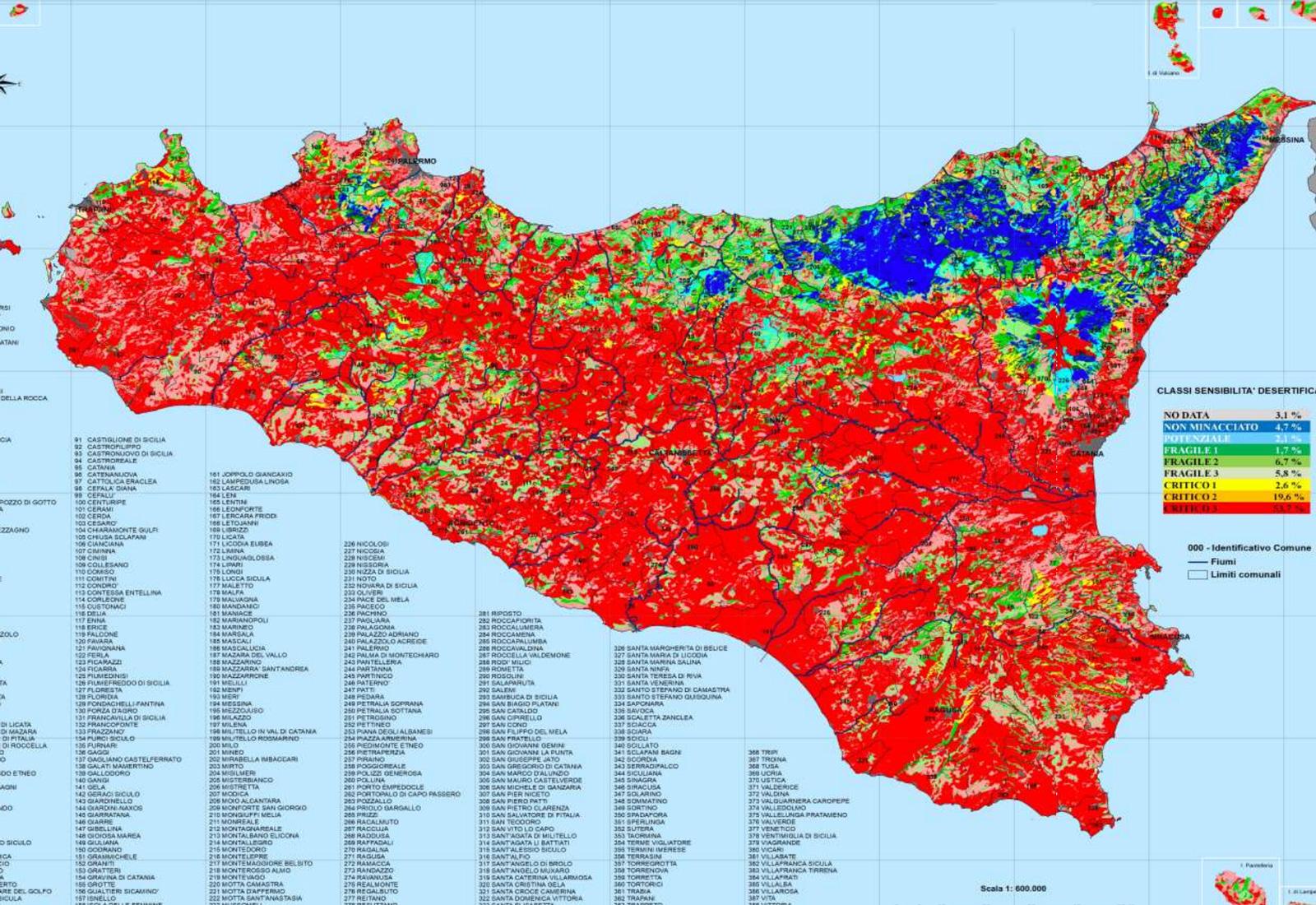 Calendario Regionale Sicilia.Sicilia A Rischio Desertificazione Come Cambia Il Clima