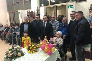 Messina. Nonna Maria Currò compie 105 anni