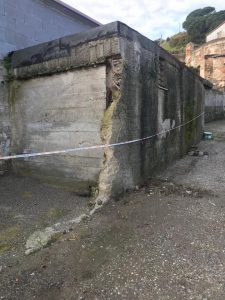 demolizione strutture abusive a cumia
