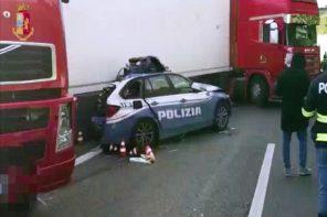 Messina. Incidente mortale sulla A18. Le immagini della Polizia – VIDEO