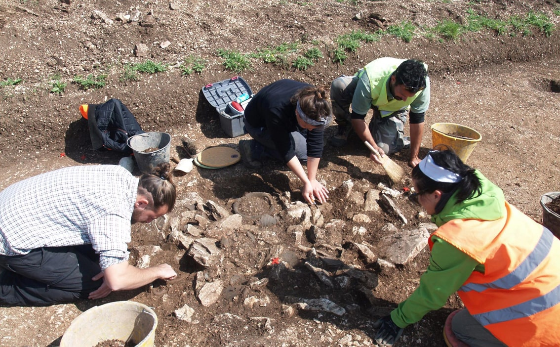 foto scavi archeologici in sicilia