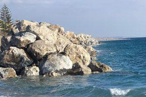 Messina. Completato il prolungamento della barriera sulla costa di Galati